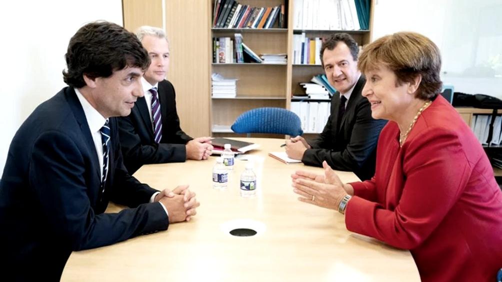 Lacunza y Sandleris se reúnen con la cúpula del Fondo Monetario Internacional