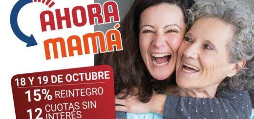 """Hoy y mañana rige el programa provincial """"Ahora Mamá"""" con reintegros del 15%"""