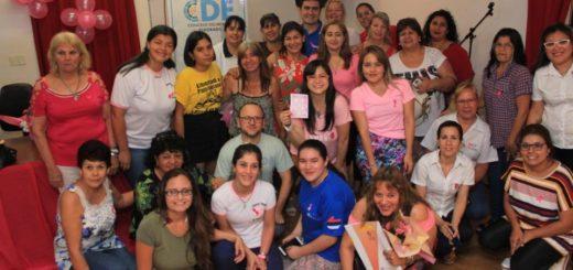 """Eldorado: realizaron charla de concientización de lucha contra el """"cáncer de mama"""""""