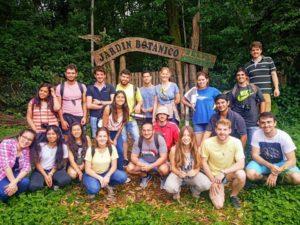Misiones: intercambio de experiencias de estudiantes concluyó con una agenda de trabajo para mejorar la formación de los futuros profesionales de las ciencias forestales del Cono Sur