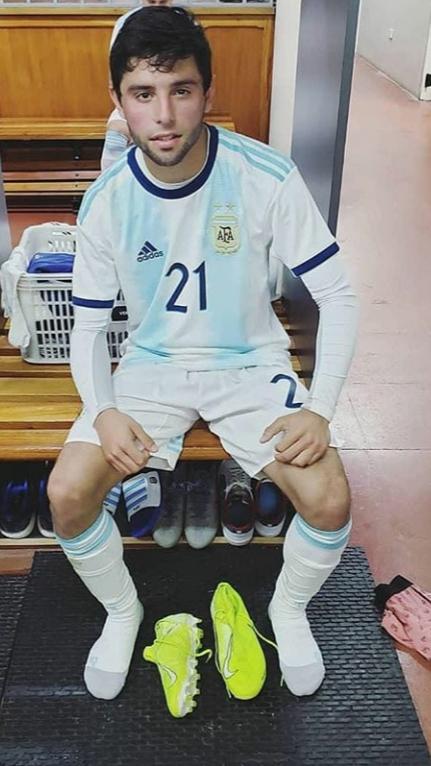 El misionero Luciano Vera reveló cómo se enteró que iba a disputar el Mundial Sub 17