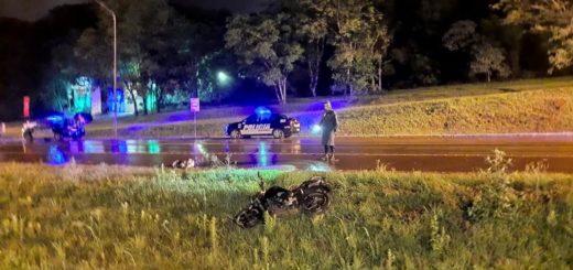 Siniestros viales dejaron como saldo cinco motociclistas lesionados en Oberá