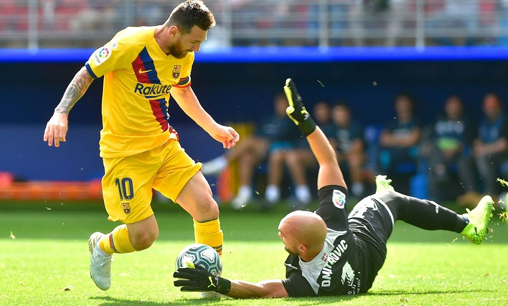 Fútbol Internacional: Messi se lució en la goleada de Barcelona ante el Eibar
