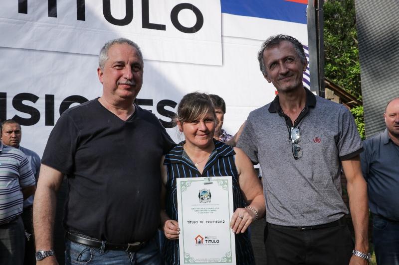 Plan mi título: «A fin de año llegaremos a 30 mil titularizaciones», aseguró Passalacqua en El Soberbio