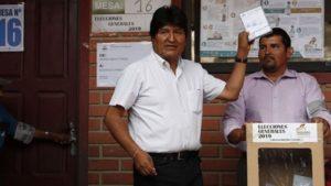 Elecciones en Bolivia: ganó Evo Morales pero habría segunda vuelta