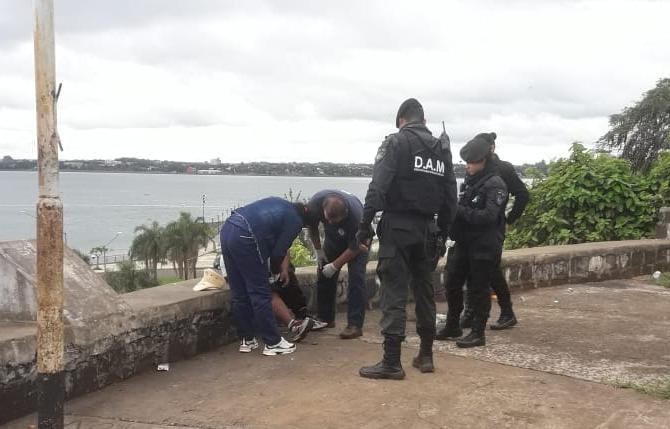 Posadas: un hombre se cayó desde el mirador del Cerro Pelón