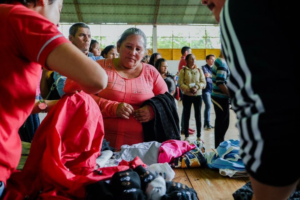Herrera Ahuad encabezó el Operativo Barrios Activos en la Expo Yerba de Apóstoles