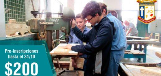 Instituto San Arnoldo Janssen: últimos días antes del cierre de preinscripciones al Secundario