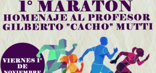 """Más de 900 ex alumnos y docentes de la EPET N°1 ya se inscribieron para la maratón solidaria en homenaje al deportista y profesor """"Cacho"""" Mutti"""