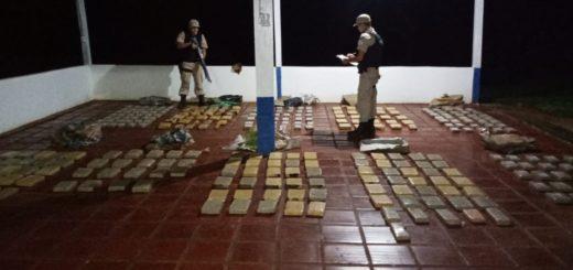 Prefectura incautó un cargamento de droga valuado en más de 22 millones de pesos en Puerto Libertad