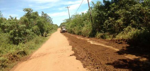 Posadas: concretan obras de reparación y mantenimiento de calles terradas en los barrios Unión y Campo Bauer