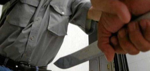 San Vicente: feroz pelea con armas blancas dejó un hombre herido y otro detenido