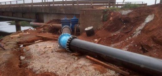 El IPRODHA entregó las obras de empalme en el sur de Posadas a EPRAC y SAMSA para su puesta en servicio