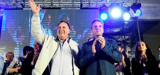 """Massa en General Las Heras: """"Este domingo millones de argentinos le van a mandar a Macri y a Vidal el telegrama de despido"""""""