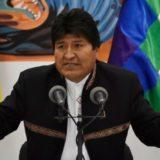 El helicóptero de Evo Morales sufrió una falla en pleno vuelo y tuvo un aterrizaje forzoso