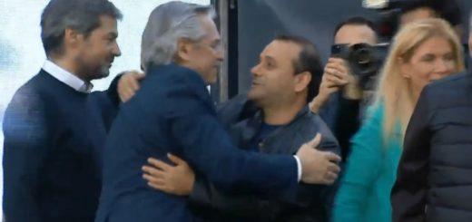 Oscar Herrera Ahuad acompañó a Alberto Fernández en el acto de cierre de campaña de Mar del Plata