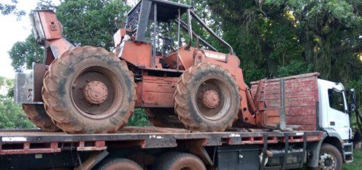 Ecología decomisó un camión y un zanello en obraje de la Biosfera Yabotí
