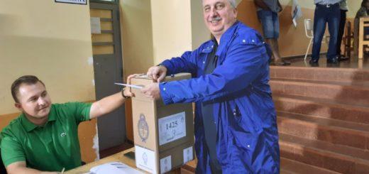 """Elecciones 2019: Hugo Passalacqua votó y señaló que """"si mirás el rostro de la gente, ves un voto esperanzado"""""""