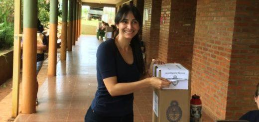 Elecciones 2019: la candidata a diputada nacional Cristina Brítez pidió que todos vayan a votar