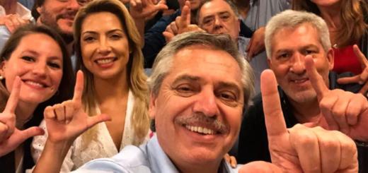 #ArgentinaElige: el festejo íntimo de Alberto Fernández tras el cierre de la votación con cantitos contra Macri