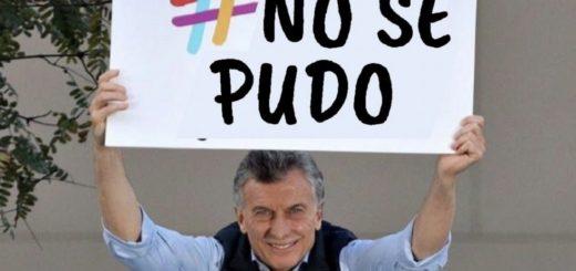 """""""No se pudo"""": la respuesta en forma de meme al """"Sí, se puede"""" de Macri que es tendencia en las redes"""