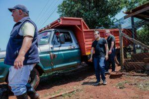 Campo Grande: Herrera Ahuad visitó la zona afectada por el temporal para acelerar soluciones