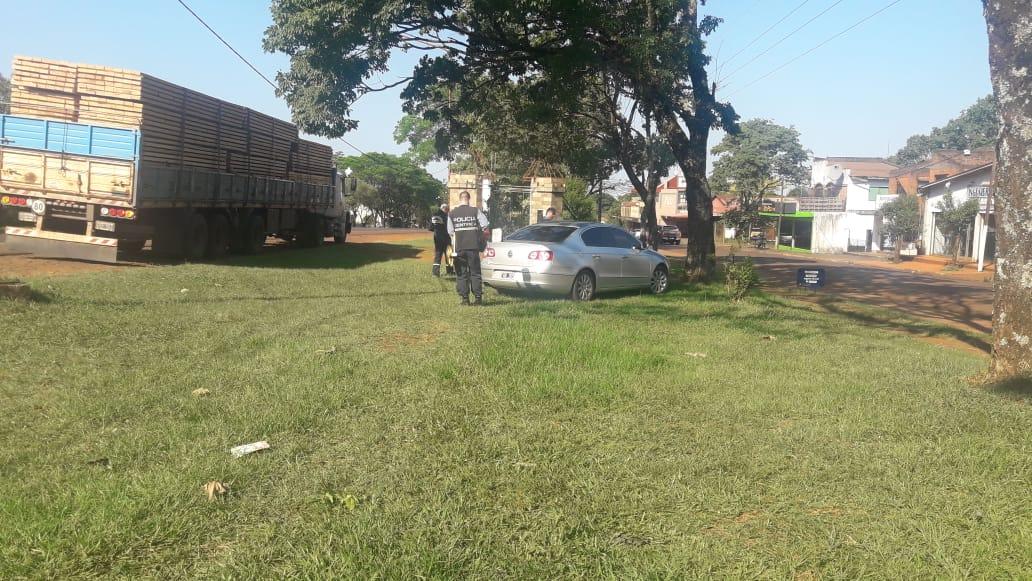 Un peatón grave tras ser embestido por un auto en Jardín América