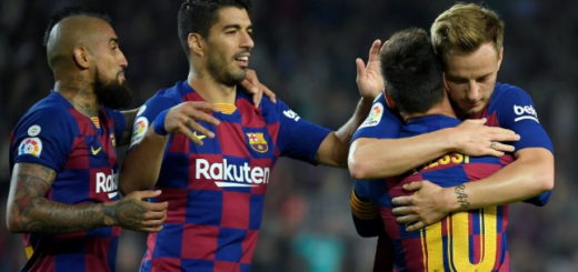 Barcelona superó 5-1 a Valladolid con un doblete de Messi