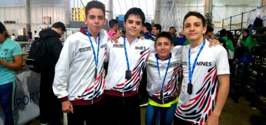 Los nadadores misioneros obtuvieron tres medallas en la primera jornada de los Juegos Nacionales Evita