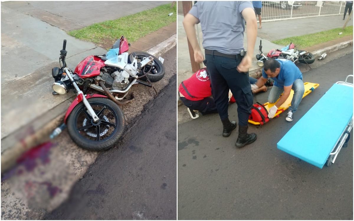 Posadas: joven motociclista gravemente herido tras choque sobre la avenida Uruguay