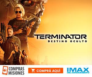 El futuro llegó al IMAX con Arnold y Terminator: Destino Oscuro…Ingresá aquí y adquirí las entradas por Internet…