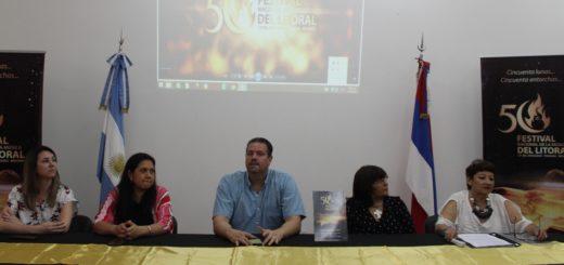 """Presentaron actividades en el marco de la """"Edición de Oro"""" del Festival del Litoral"""