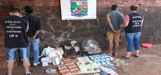 Detienen a dos hombres y recuperan elementos robados en un jardín de infantes de Eldorado