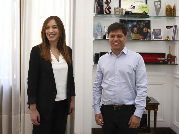 Kicillof se reunió con Vidal y comenzó la transición en la Provincia de Buenos Aires