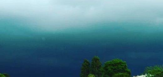 La tormenta provocó cortes de luz en distintas localidades de la zona norte de Misiones