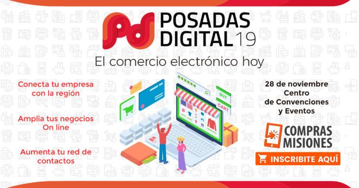 """Realizarán el """"Posadas Digital 19"""", el mayor evento de comercio electrónico de la región…Inscribite aquí por Internet"""