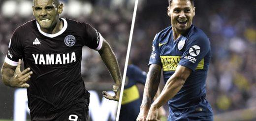 Boca busca recuperar la punta de la Superliga frente a Lanús