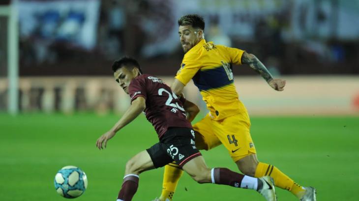 Boca cae ante Lanús y pierde la punta de la Superliga