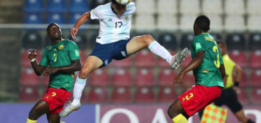 Mundial Sub 17: Argentina venció 3-1 a Camerún