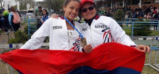Medalla de oro para la atleta Eliana Rosa de San Pedro en los Juegos Nacionales Evita