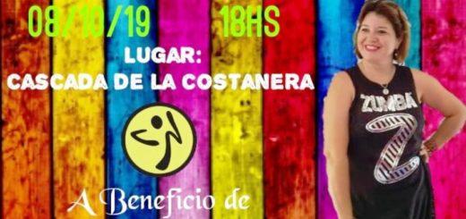 """Zumberos de Posadas y alrededores bailarán hoy en la Cascada de la Costanera a beneficio de la instructora """"Lili Almada"""""""