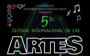 Se realizará el Quinto Festival Internacional de las Artes en San José