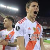 El mensaje del Pity Martínez que desató la alegría de los hinchas de River durante el Superclásico