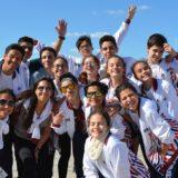 Las niñas que representan a Misiones en Gimnasia Rítmica en los Evita 2019 aseguraron que este año vienen por el Oro