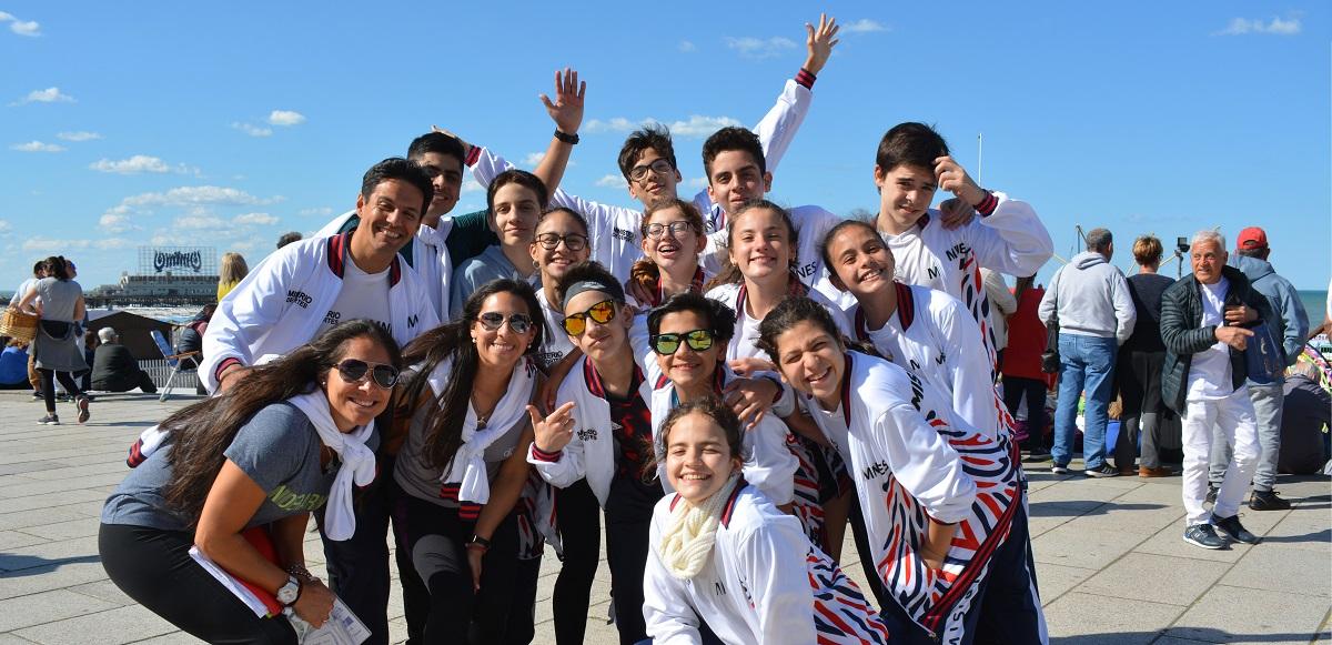 Los nadadores misioneros sub 14 llegaron a los Juegos Nacionales Evita con el objetivo de aprender y compartir