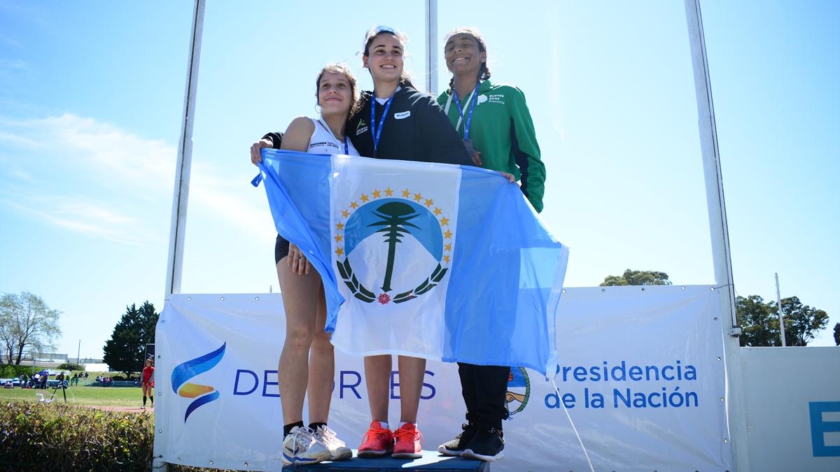 Juegos Nacionales Evita: Martina Prieto de Oberá obtuvo la medalla de Plata en Lanzamiento de Jabalina