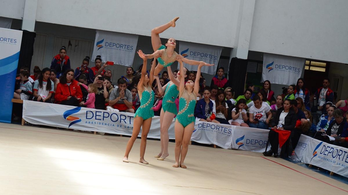 Las gimnastas misioneras coparon los podios de Gimnasia Rítmica infantil y juvenil en los Evita 2019