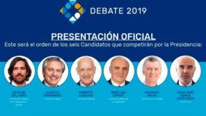 #Elecciones2019: lineamientos de las propuestas de los candidatos por la Presidencia de la Argentina