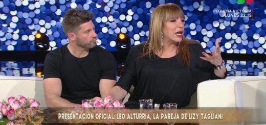 Lizy Tagliani presentó a su novio en el programa de Susana Giménez