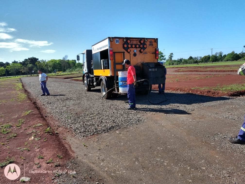 Posadas: el Municipio comenzó a construir la pista de la Escuela de Manejo